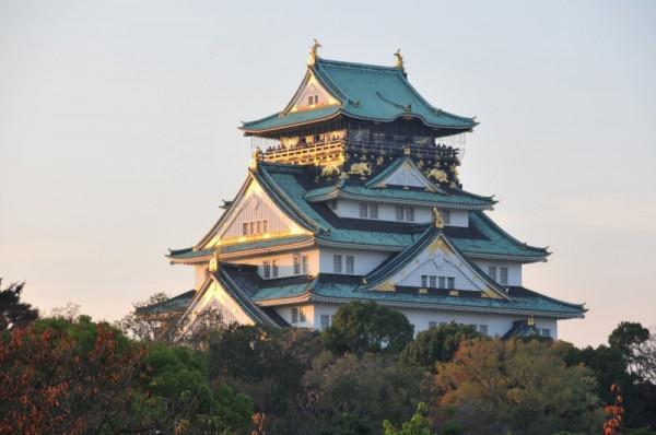 Lâu đài Osaka1