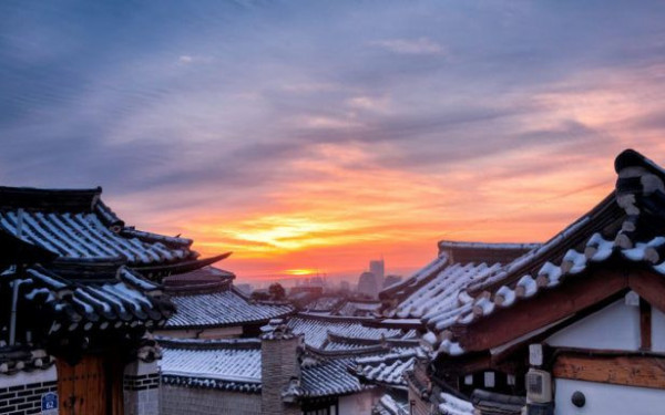 ngôi làng cổ giữa lòng thủ đô Seoul