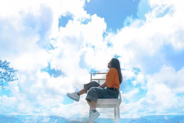 Ghế săn mây.