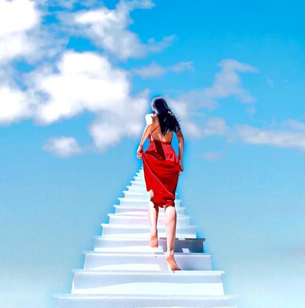 Nấc thang lên thiên đường.