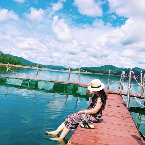Tham quan Hồ Phú Ninh1