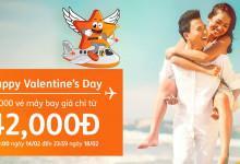 Happy Valentine's Day Jetstar mở bán vé máy bay giá chỉ từ 42k