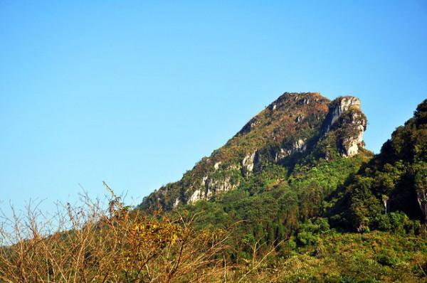 Đỉnh Núi Hàm Rồng