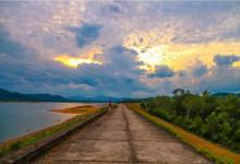 Ngất ngây với cảnh đẹp tự nhiên của Hồ Phú Ninh