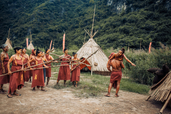 Làng thổ dân – một bối cảnh trong phim Kong Skull Island1