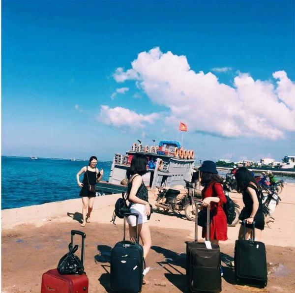 Phương tiện di chuyển tới đảo Lý Sơn