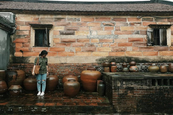 làng cổ Đường Lâm3