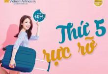 Vietnam Airlines mở bán vé máy bay giá rẻ chỉ từ 222.000đ