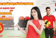 Mừng 8.3 Vietjet khuyến mãi vé máy bay 0 đồng dịp hè