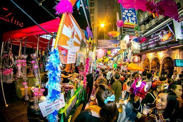 Khu vui chơi Lan Quế Phường (Lan Kwai fong)