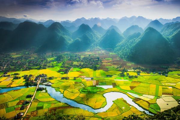Lang thang mùa vàng tại thung lũng Bắc Sơn Việt