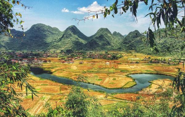Lang thang mùa vàng tại thung lũng Bắc Sơn Việt8