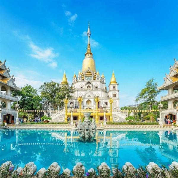 Chùa Bửu Long – nét Thái Lan giữa lòng Sài Gòn