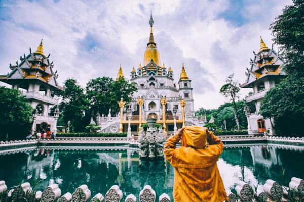 Chùa Bửu Long – nét Thái Lan giữa lòng Sài Gòn3