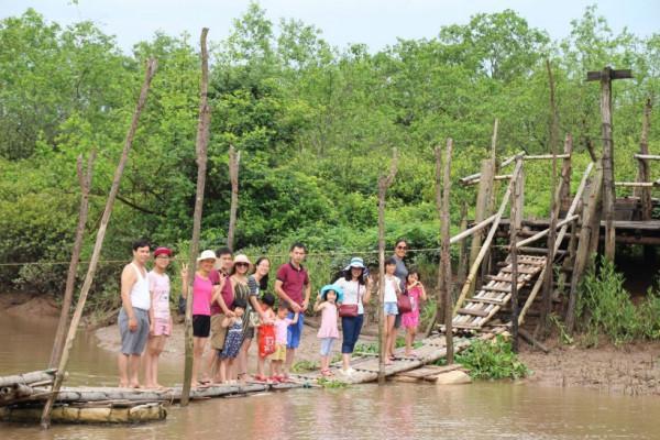 Khu du lịch sinh thái Cồn Đen1