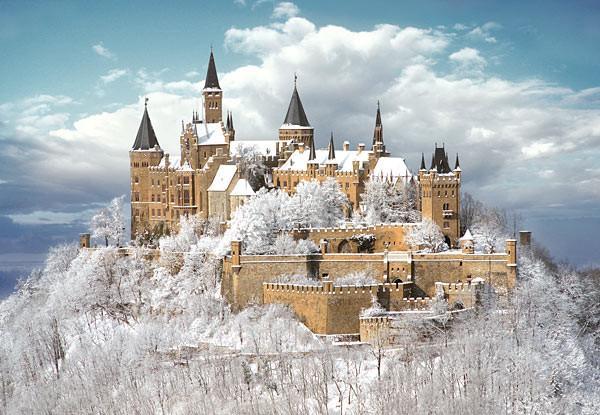 Lâu đài Hohenzollern.