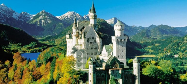 Lâu đài Neuschwanstein.