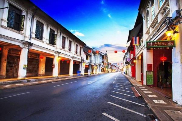 Đô thị cổ ở Phuket