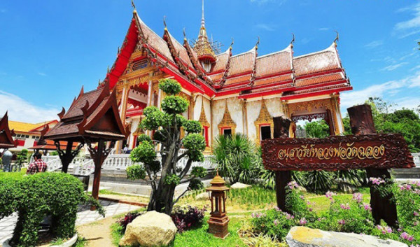 Đền Wat Chalong