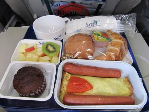 Các bữa ăn trên chuyến bay