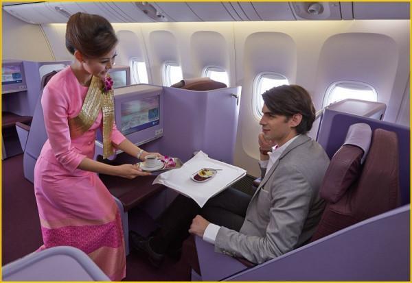 Hạng ghế Royal First Class của Thai Airways