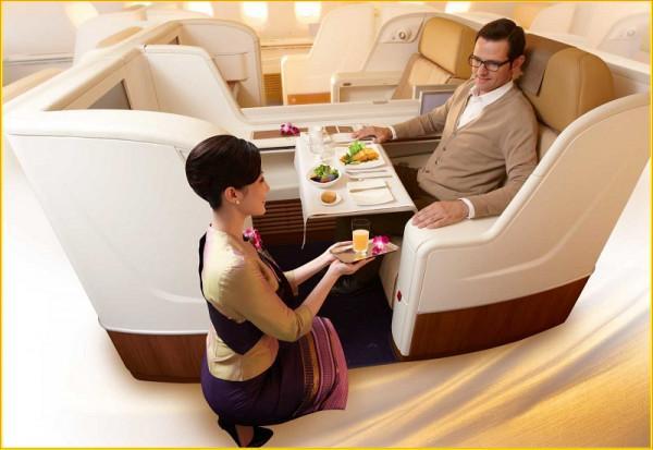 Hạng ghế của Thai Airways