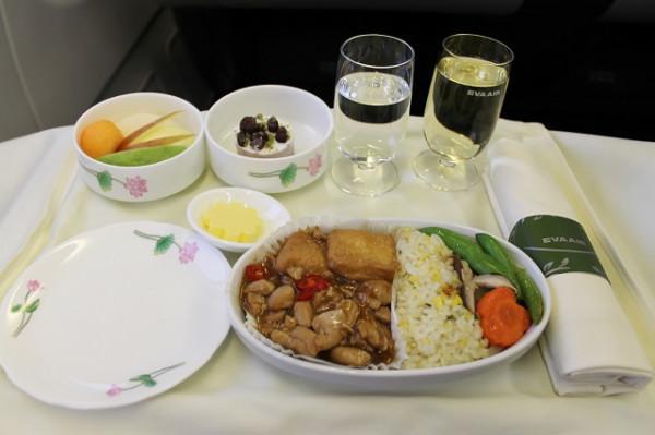 Eva Air Business Class Taipei-Hong Kong