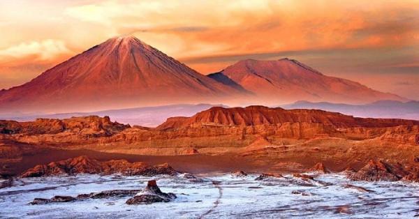 Sa mạc Atacama.