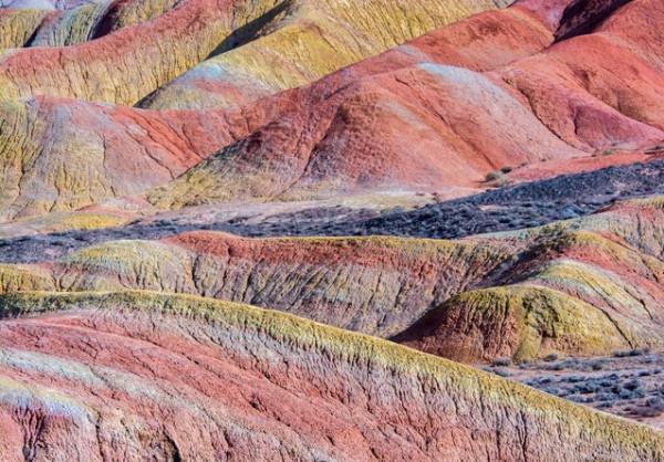 Vùng địa chất núi Zhangye Danxia11
