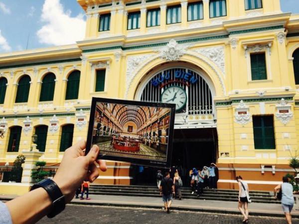 Bưu Điện trung tâm Sài Gòn.