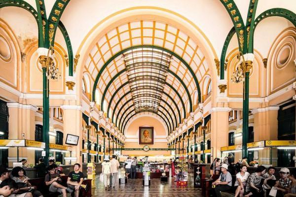 Bưu Điện trung tâm Sài Gòn.1