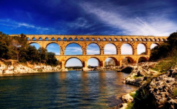 Cầu Pont du Gard, Pháp.1