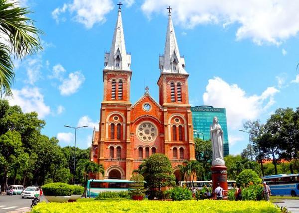 Nhà thờ Đức Bà tại Quận 1 TP.HCM