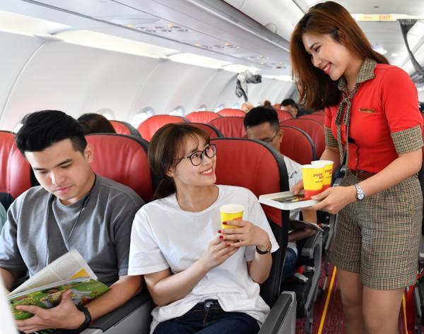 Vietjet đem đến nhiều trải nghiệm bay thú vị.