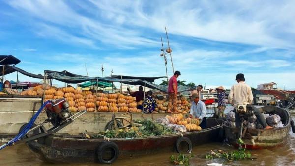 Chợ nổi Ngã Bảy - Phụng Hiệp