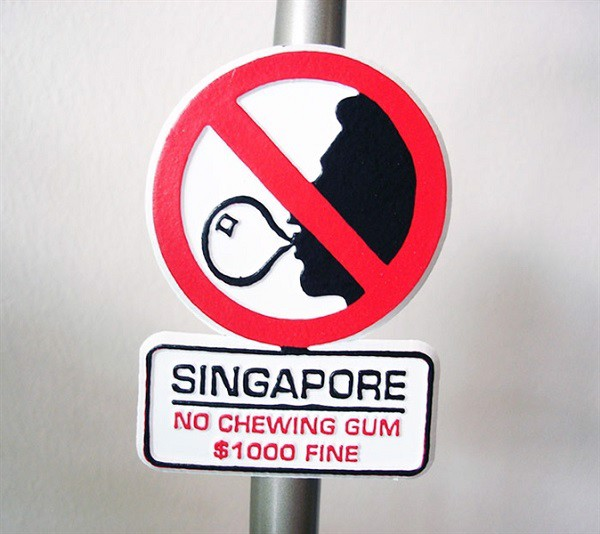 Không vứt rác bừa bãi.