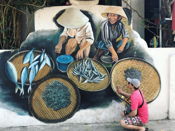 Ngôi làng bích họa Cảnh Dương4