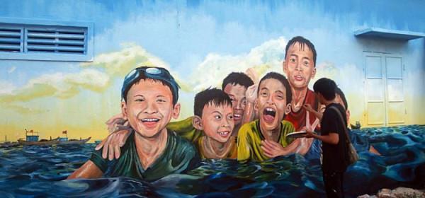 Ngôi làng bích họa Cảnh Dương5