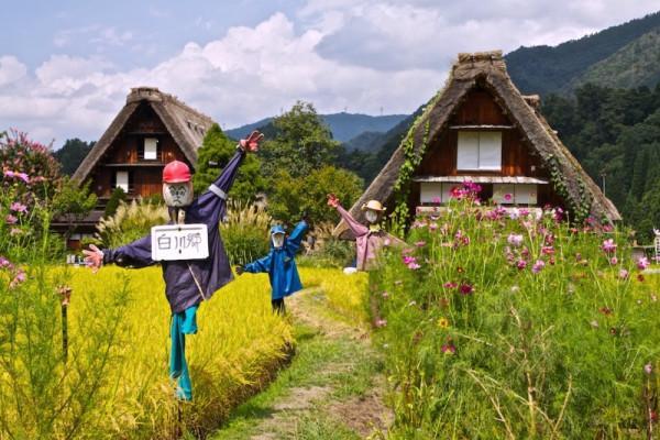 làng cổ Shirakawago, Nhật Bản.4