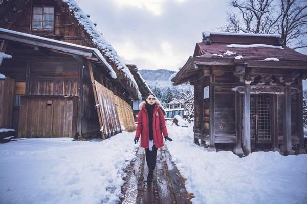 làng cổ Shirakawago, Nhật Bản.9