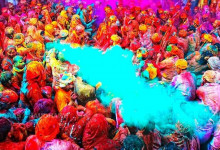 Cùng Vietjet Air tham gia lễ hội ném màu Holi