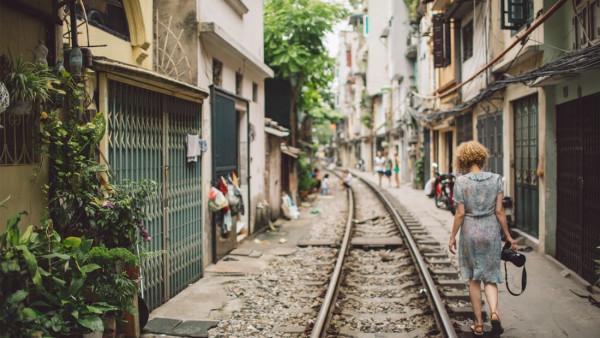 tuyến đường sắt xuyên phố cổ Hà Nội1
