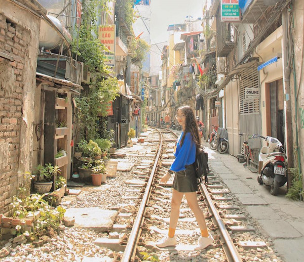 tuyến đường sắt xuyên phố cổ Hà Nội2