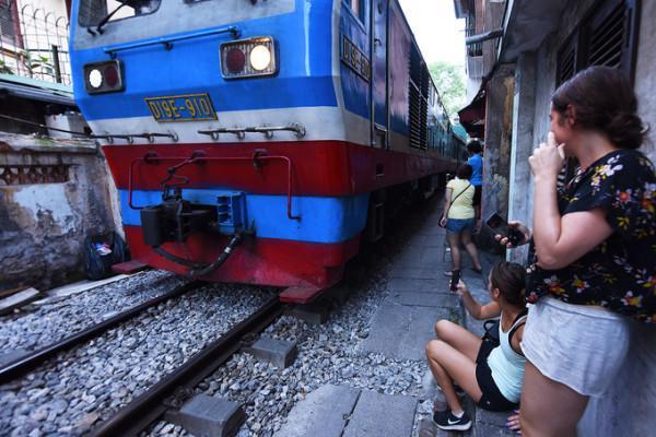 tuyến đường sắt xuyên phố cổ Hà Nội3