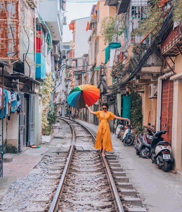 tuyến đường sắt xuyên phố cổ Hà Nội5