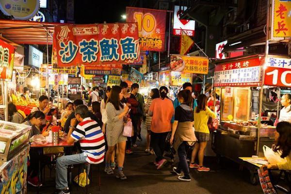 Ăn ngập mặt tại chợ đêm Shilin