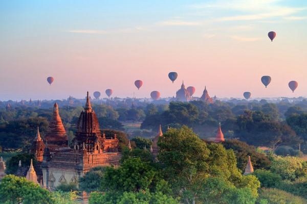 Bagan - một thành phố cổ