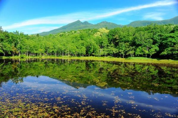 Quần thể 5 hồ nước Shiretoko Goko1