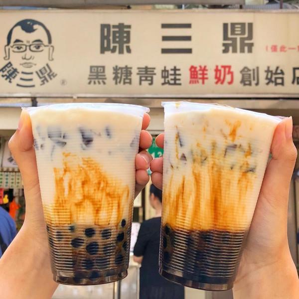 Uống trà sữa ông Trần
