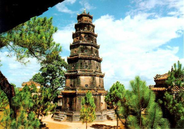 Vãn cảnh chùa Thiên Mụ